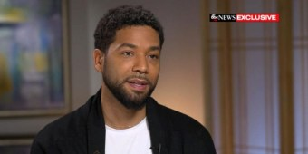 Jussie Smollett on ABC News (screen capture via YouTube)