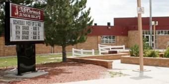 McCormick Junior High School in Cheyenne, Wyoming (image via school district)