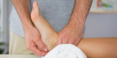 When an ankle exam detours to something else (stock photo)