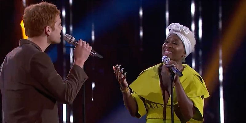 Jeremiah Lloyd Harmon & Cynthia Erivo (screen capture)