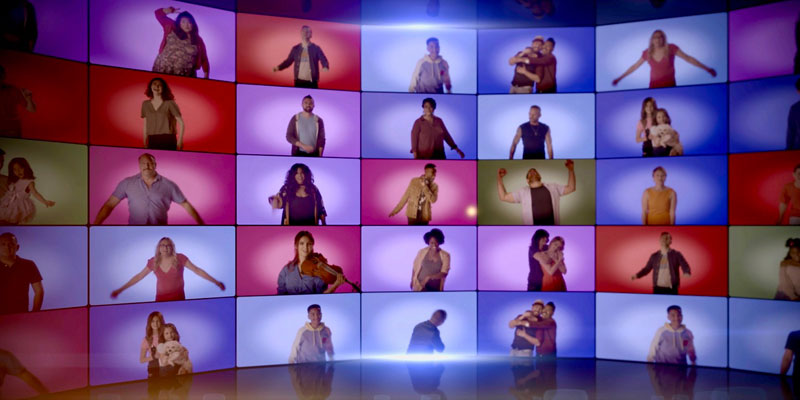 """Dozens of friends join Matt Zarley and Billy Porter for their music video for """"You Gotta Be"""""""