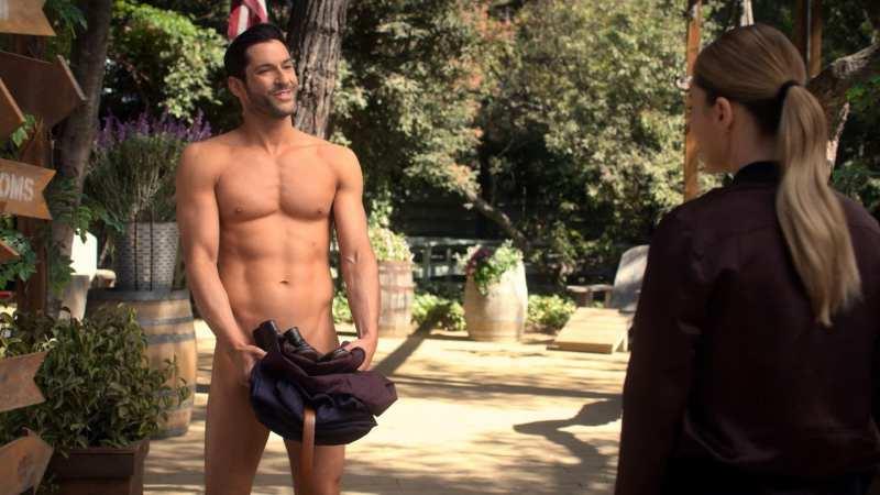 tom ellis shirtless
