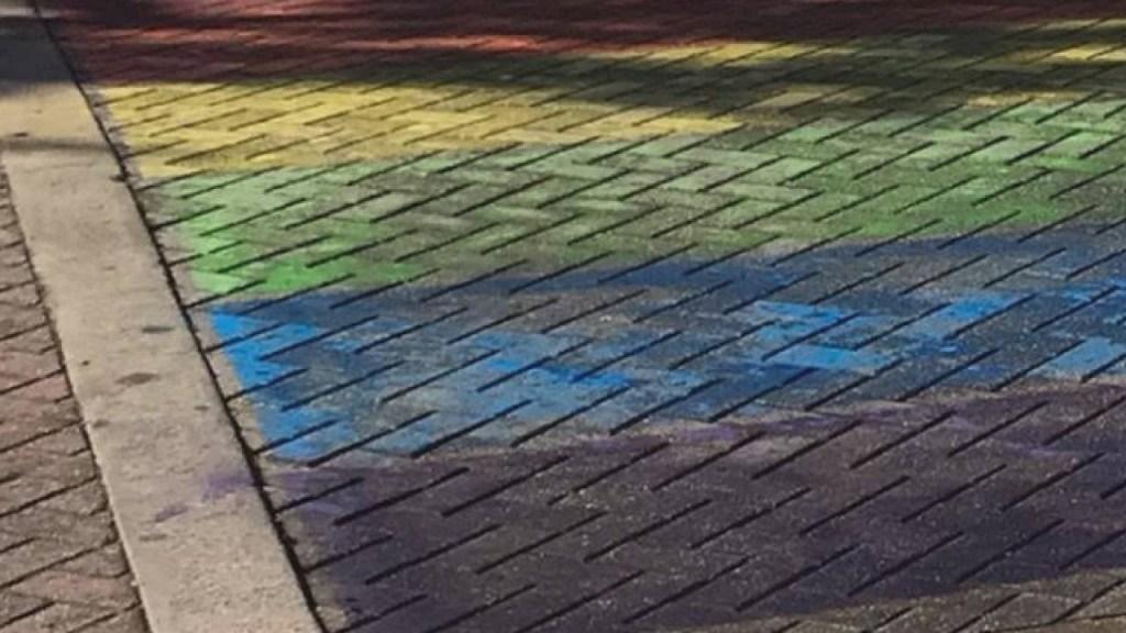 Alabama LGBT Group Upset By Erased Pride Art • Instinct Magazine