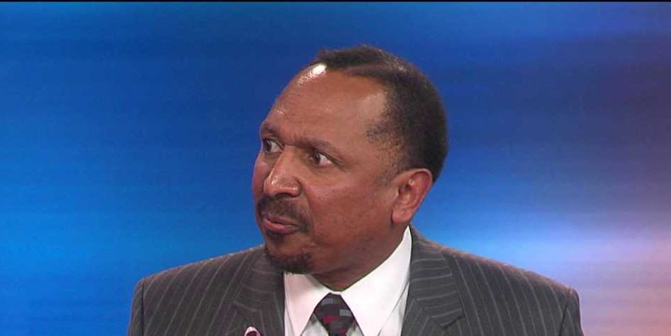 Right-wing pastor E.W. Jackson (screen capture)