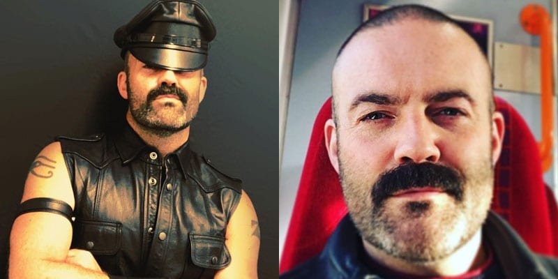Joe King, former Mr. Leather Europe
