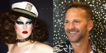 West Hollywood drag performer Jonnie Reinhart confronted disgraced former congressman Aaron Schock at a West Hollywood bar last week