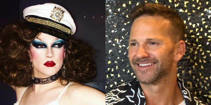 West Hollywood drag performer Jonnie Reinhart confronted disgraced former congressman Aaron Schock at a West Hollywood bar last week