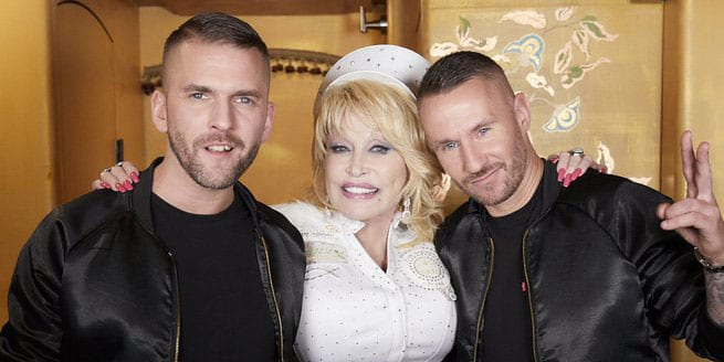 Galantis (Christian Karlsson & Linus Eklöw) with Dolly Parton