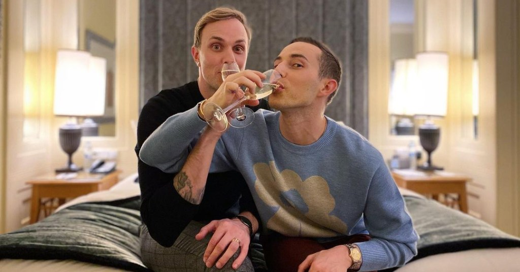 Adam Rippon and longtime boyfriend are engaged