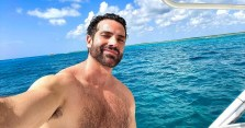 Boy Butter spokesmodel Rod Facundo did some serious social distancing in Cozumel