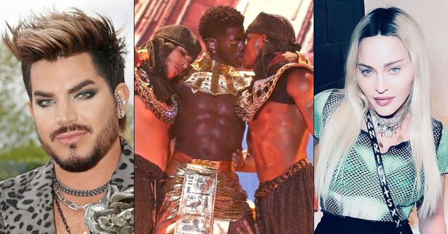 Adam Lambert, Lil Nas X, Madonna each had their same-sex kiss controversies