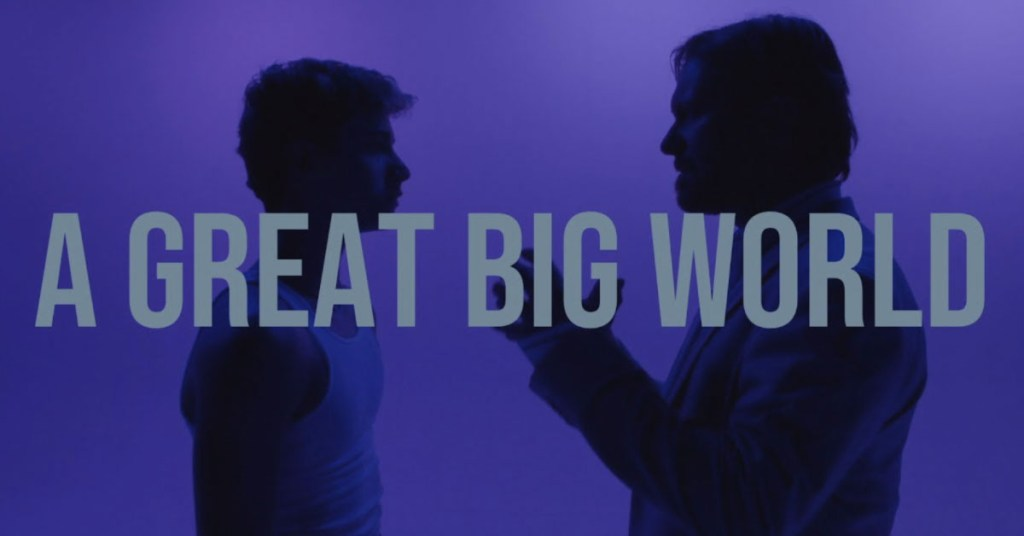 """Screen capture from A Great Big World's new video """"Boys In The Street"""""""