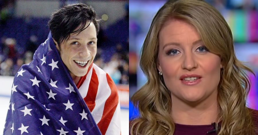 Two-time Olympian Johnny Weir clapped back at Trump lawyer Jenna Ellis when she criticized his look at the Tokyo Games
