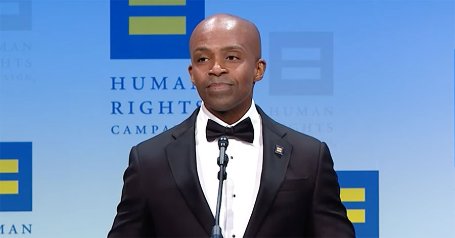 Alphonso David, president of the Human Rights Campaign