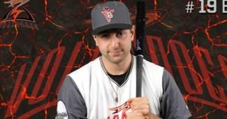 Pro baseball player Bryan Ruby of the Salem-Keizer Volcanoes