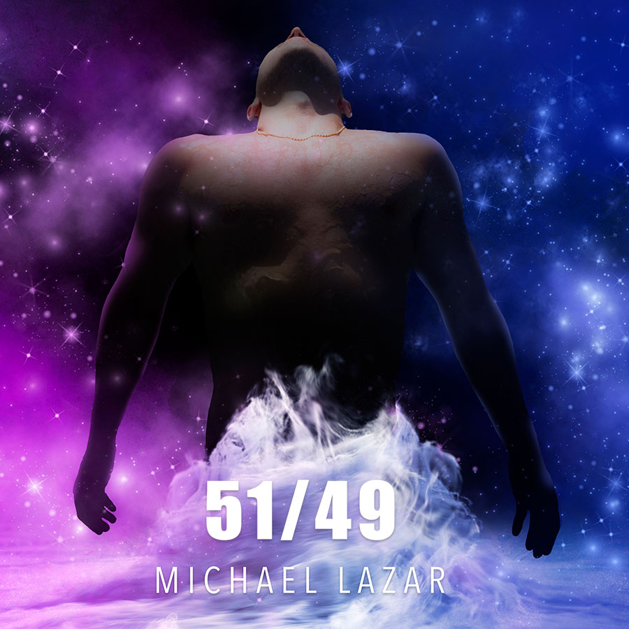 Cover art for Michael Lazar's debut album '51/49'