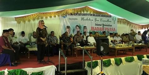 Pemkab Bolmong Berbagi Keberkahan di Bulan Ramadan