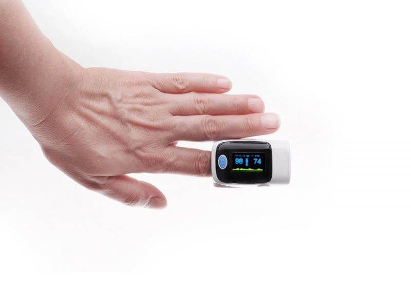 Pulse oximeter.