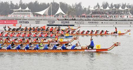 Course bateaux dragons