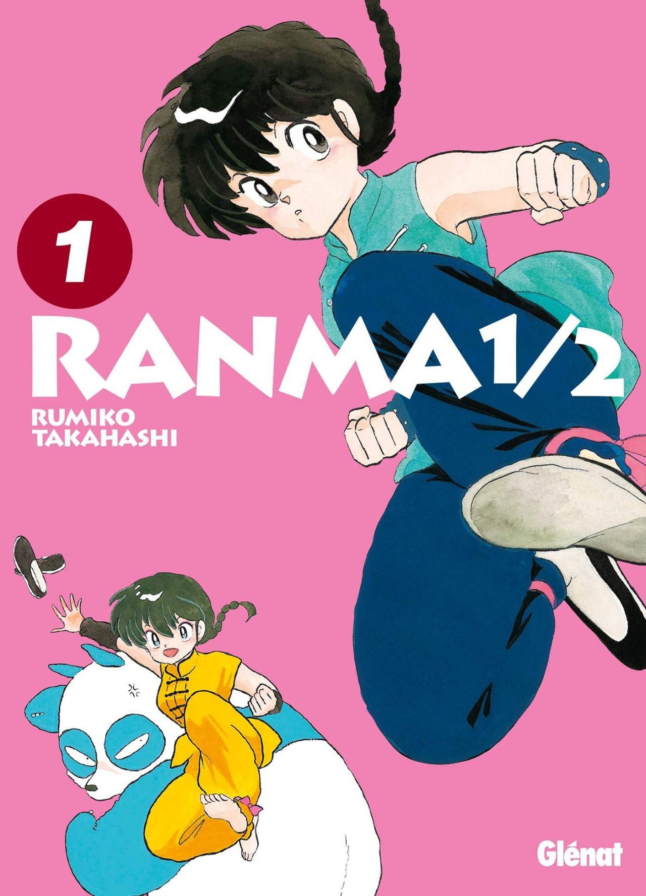 Couverture du Manga Ranma 1/2