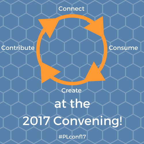 Connect, Consume, Create & Contribute at the 2017 Convening!