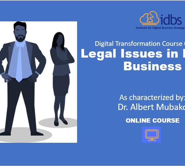 Legal Issues in Digital Course