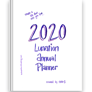Lunation Annual Planner 2020