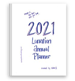 Lunation Annual Planner