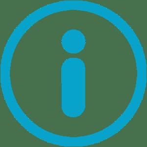 ICON - Info - Blue