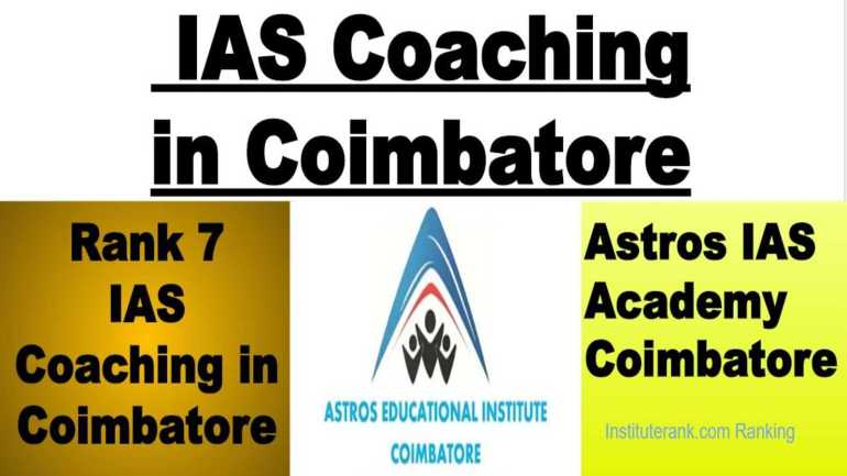 Best IAS Classes in Coimbatore