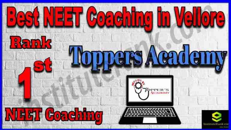 Rank 1st Best NEET Coaching in Vellore