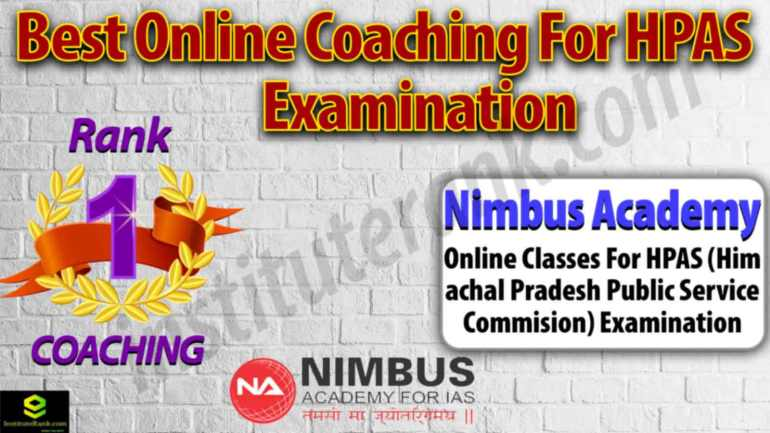 Best Online Coaching for HPAS Examination