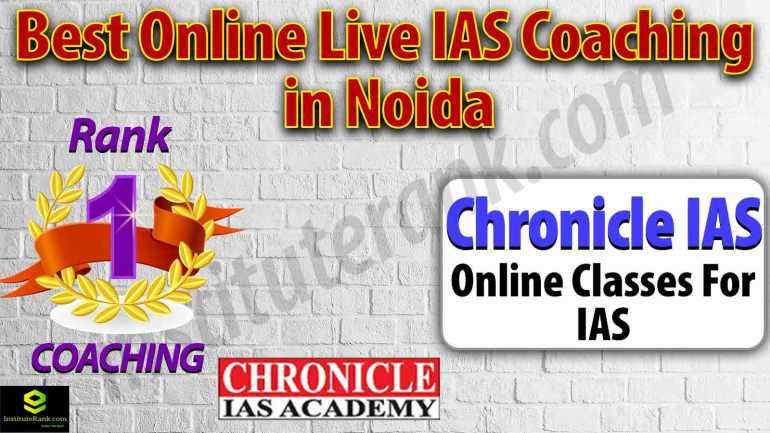 Best Online live IAS Coaching in Noida