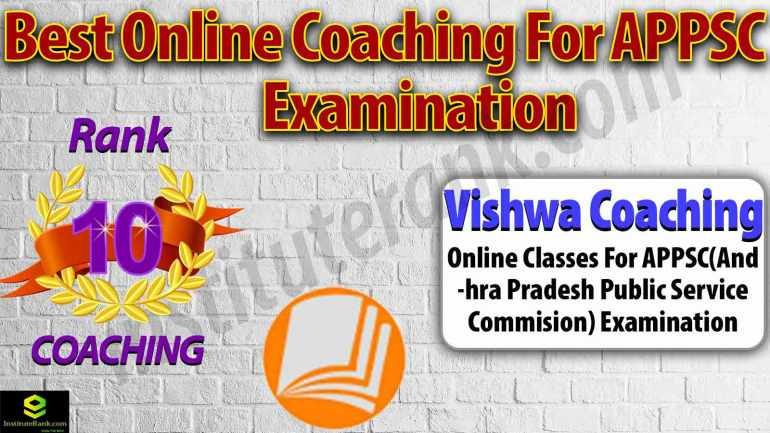 Top Online Coaching Centre for APPSC Exam Preparation