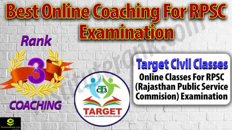 Top Online Coaching Centre for RPSC Examination