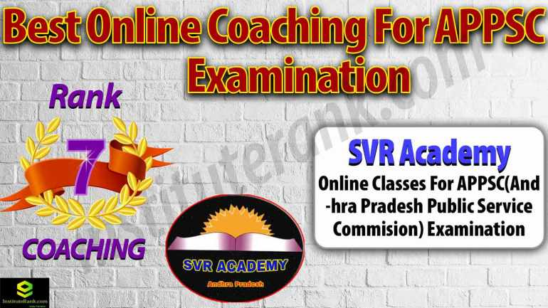 Top Online Coaching for APPSC Exam Preparation