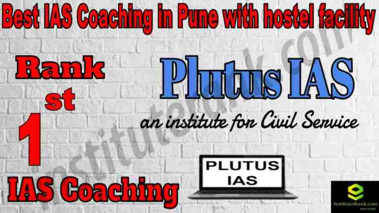 1st Best IAS Coaching in Pune with hostel facility