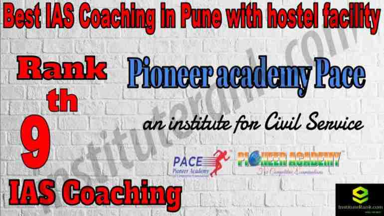 9th Best IAS Coaching in Pune with hostel facility