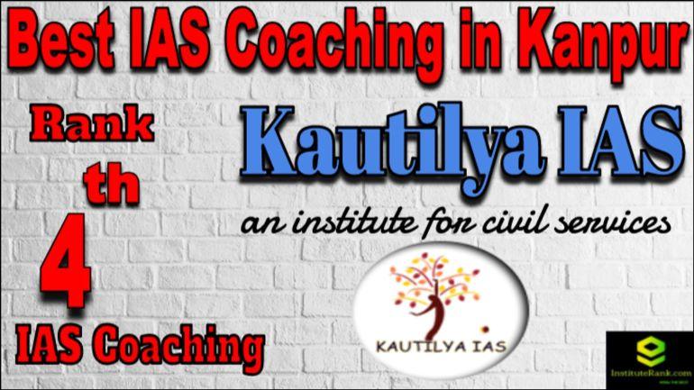 Rank 4 Best IAS Coaching in Kanpur