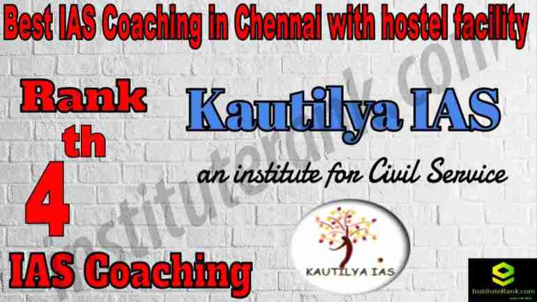4th Best IAS Coaching in Chennai with hostel facility