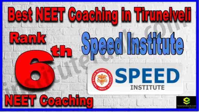 Rank 6th Best NEET Coaching in Tirunelveli