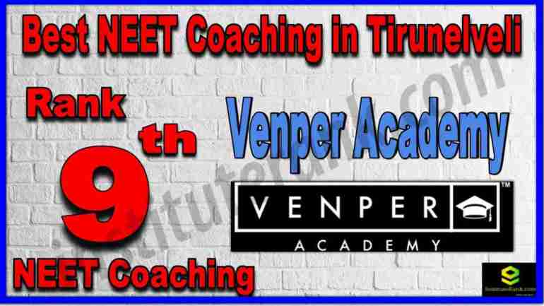 Rank 9th Best NEET Coaching in Tirunelveli