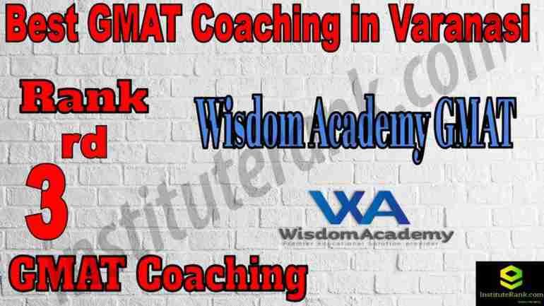 3rd Best GMAT Coaching in Varanasi