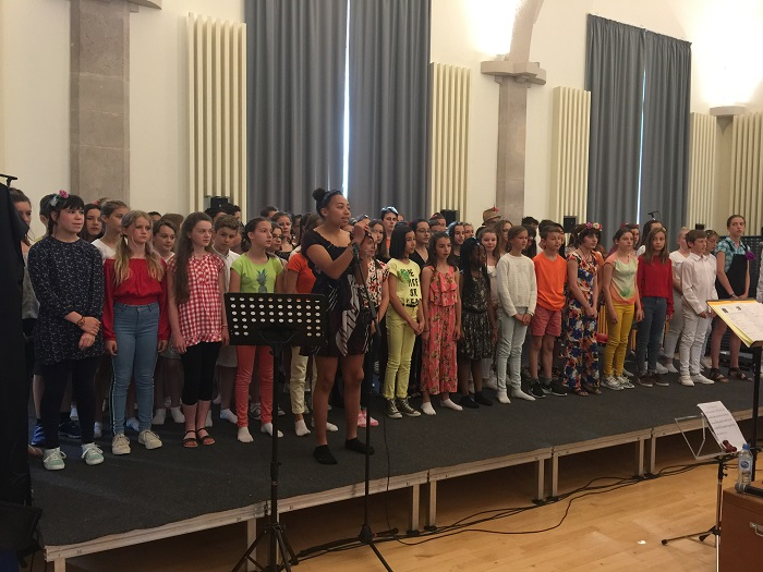 spectacle chorale Lamartine