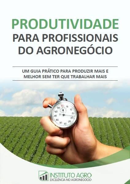 E-book Produtividade para Profissionais do Agronegócio