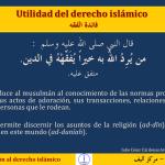 FIQH 02 Utilidad Aprender y enseñar el derecho islámico fiqh
