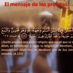 El mensaje de los profetas