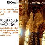 El Corán ¿un libro milagroso?