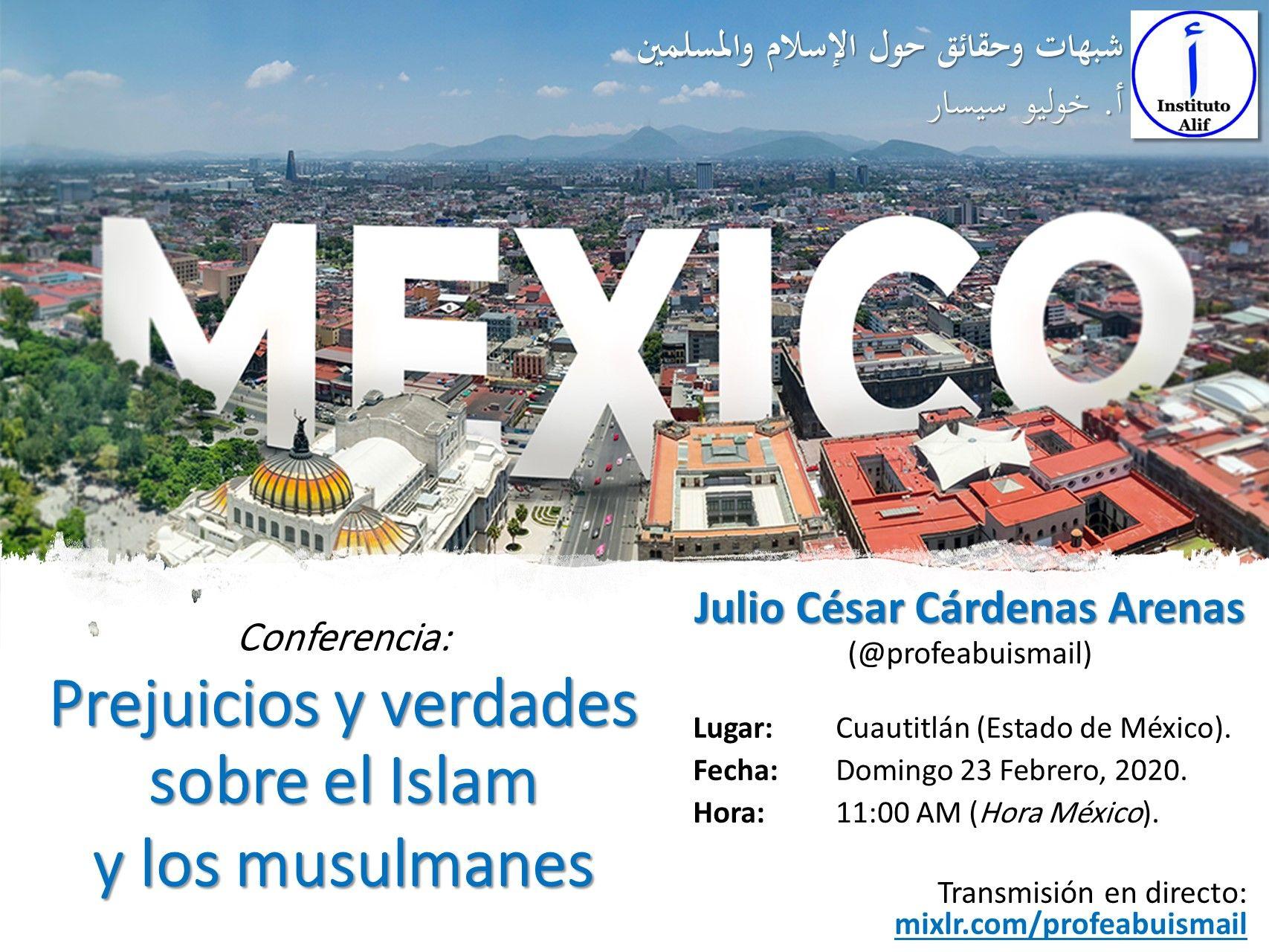 Prejuicios y verdades sobre el Islam y los musulmanes (Conferencia)