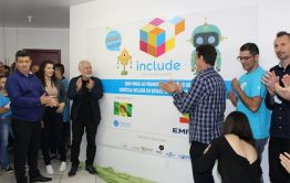 Galvão inaugura laboratório tecnológico Include, o primeiro em Santa Catarina